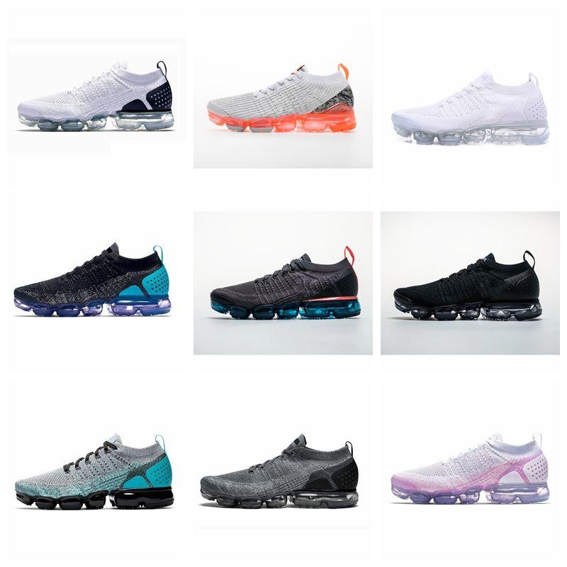 D03 2020 zapatos negros blancos de plata Hombres Mujeres Por masculino que se ejecutan zapato del deporte del choque Corss jogging zapatos para caminar al aire libre 36-45