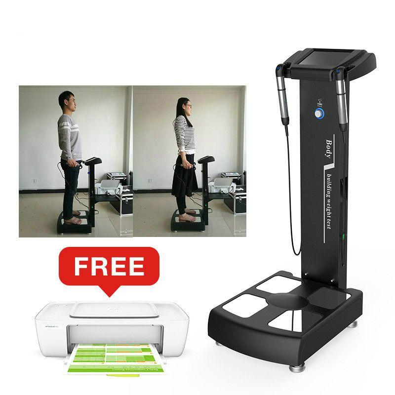 2019 디지털 체성분 분석기 지방 시험 기계 건강 분석 장치 바이오 임피던스 아름다움 장비 체중 감량 피트니스 체육관