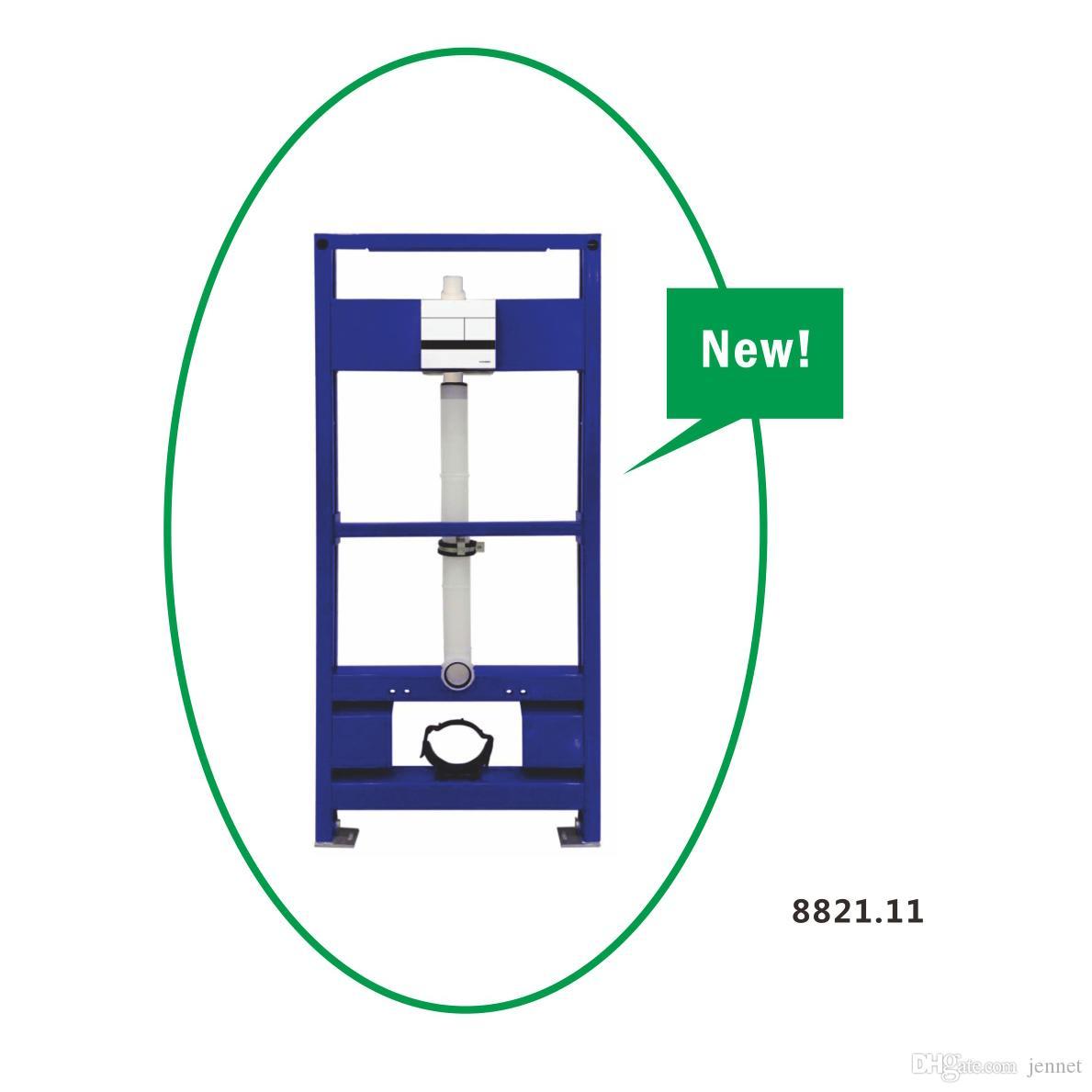 Auto Flush verdeckter System für Wand hungtoilet Pfannenboden montierten WC Doppel Spültoilette Sensor Spülsystem Urinal hock