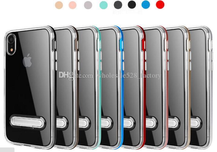 iphone12 11xr xsmax 삼성 S10 Slicone 3 1 투명 호넷 킥 스탠드 케이스에 대한 SPIGEN 하이브리드 케이스 꿀벌 갑옷 케이스