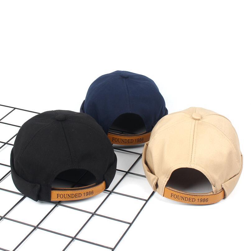 Cappelli regolabili di colore solido degli uomini di autunno degli uomini di autunno degli uomini di autunno del cappuccio di sport respirabili liberi di colore