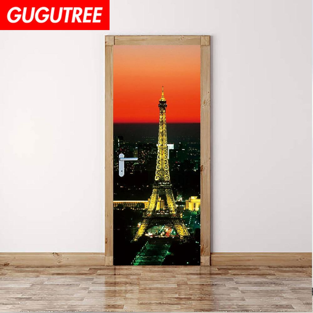 Decorate Home 3D scenery wall door sticker decoration Decals mural painting Removable Decor Wallpaper G-803