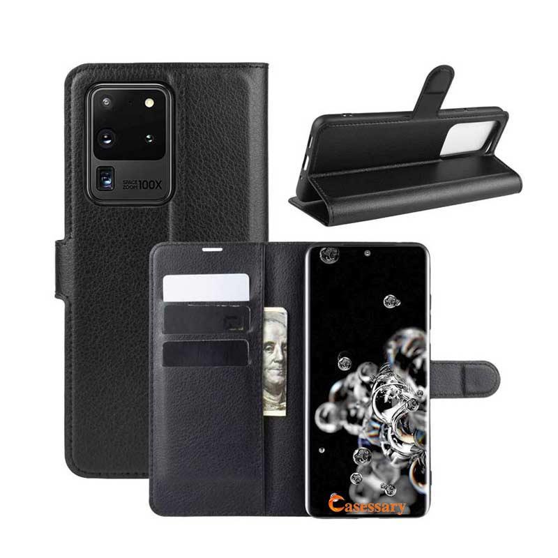 Carteira de luxo Caso Com Titular para o iPhone 12 Pro Max XR Samsung S20 Plus Nota 20 Ultra A11 A21 A51 Huawei P40 Pro