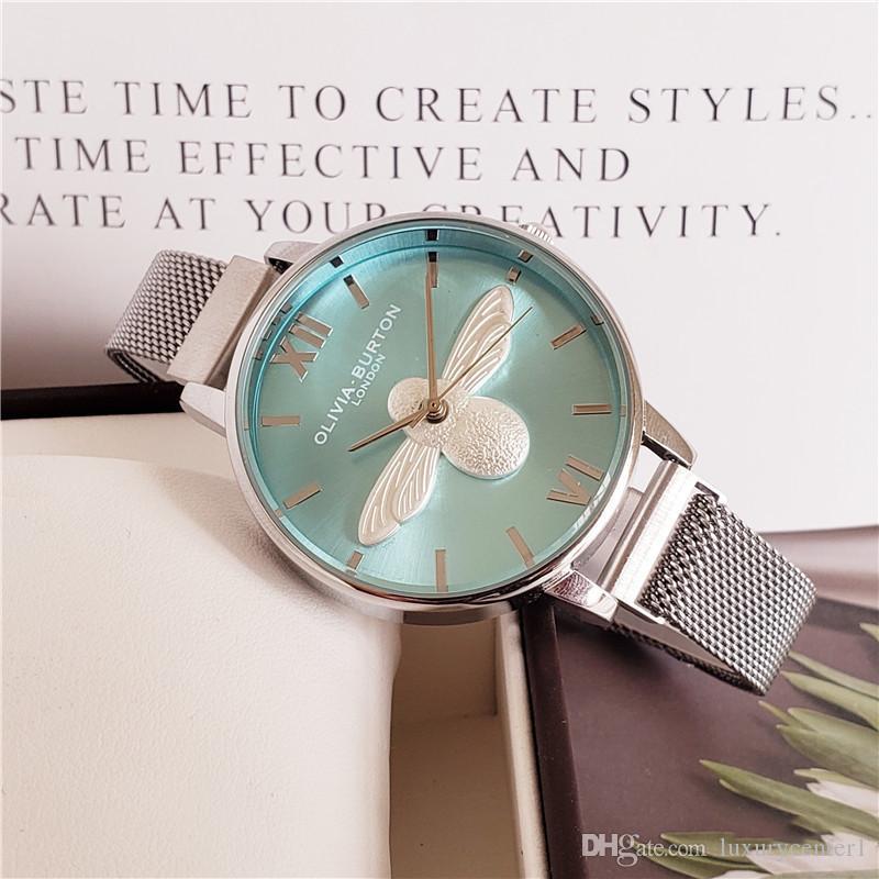 Lujo de cuero 2020 relojes Oh Relojes Moda Fashion Casual Famosa Cuarzo Relogio Vintage Masculino Reloj Hombres Marca Reloj Bmouq