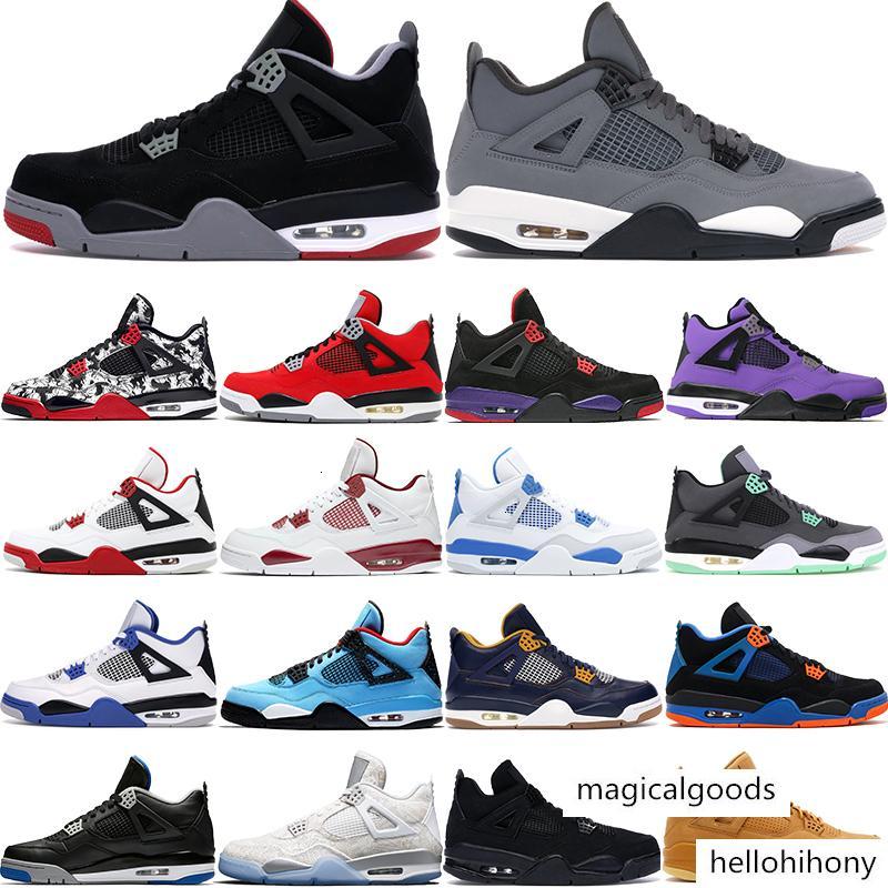 07 4 4s Cool Grey Jumpman uomini scarpe da basket allevati tuono gatto nero scarpe da ginnastica grow Jack Green cactus rapotors mens design di lusso