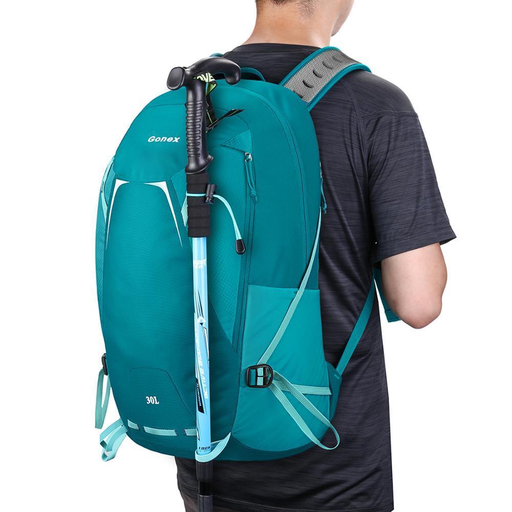 Gonex 30л пешие прогулки путешествия рюкзак легкий водонепроницаемый рюкзак для ежедневного использования активного отдыха, кемпинга альпинизм