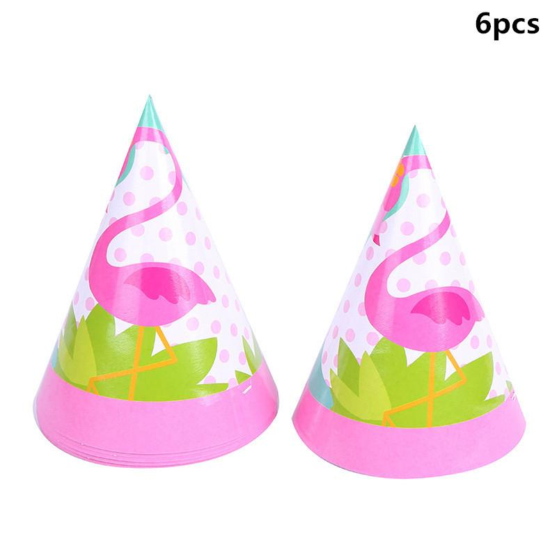 Theme Party Decoration Flamingo Wedding Party Supplies Tableware Plate Straw Banner Birthday Party Decor for Kids Baby Shower