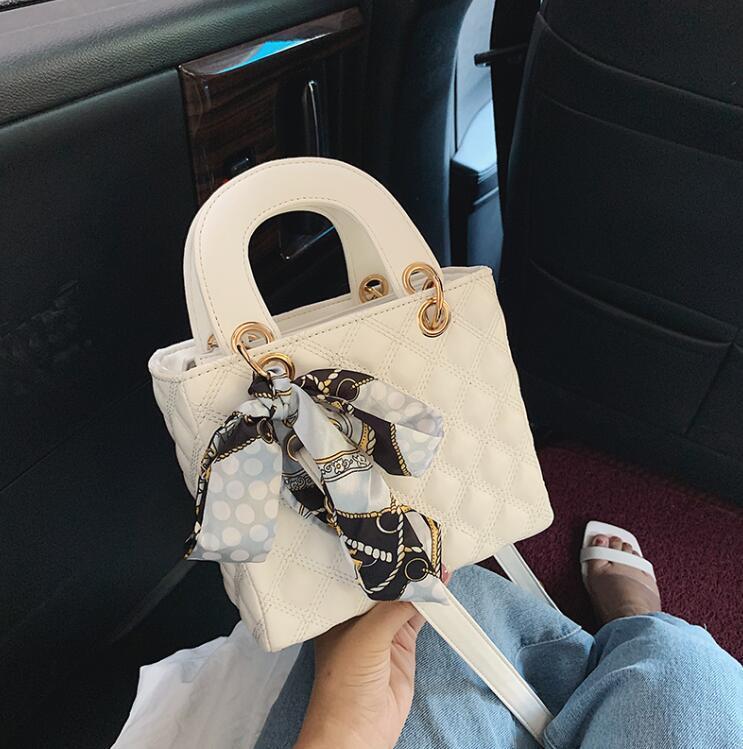 Borse a tracolla dal design di lusso Borse Purses Super Senior Piccolo sacchetto di modo della grata di diamante di Crossbody Ragazze Gift Bag