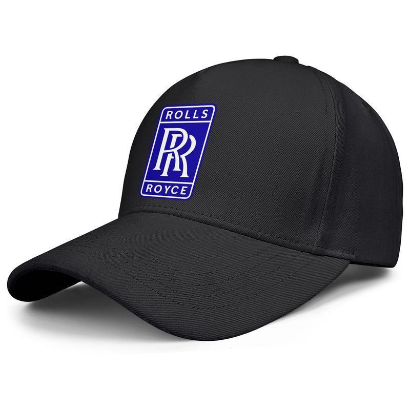 Rolls Royce Oeiginal logosu mavi beyaz erkek ve ayarlanabilir kamyon şoförü kap tasarımı bağbozumu sevimli şık baseballhats bloklu inanç AdaG womens