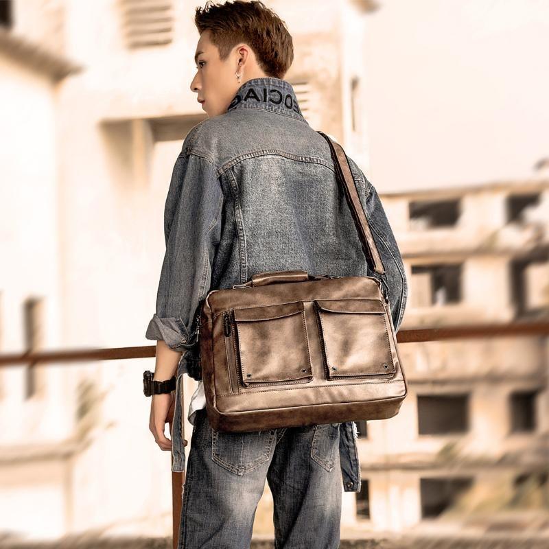 Single-Schulter-Beutel-Männer beiläufige Kreuz-Tasche Arge-Kapazität Etro-Tasche Individual Business Aktentasche Multi-Funktions-Männer Tasche