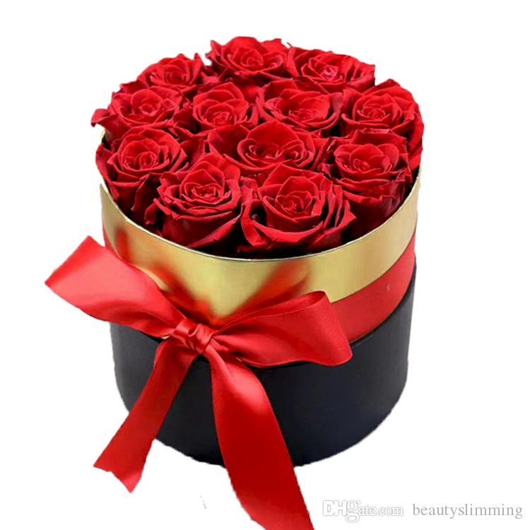 Wholesale Infinity Rose Home Decor Gifts Valentine Preserved Rose Flower Forever Eternal Rose