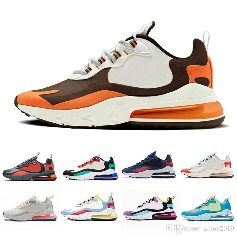 2019 Void React mens running shoes BAUHAUS Hyper Jade Summit White Bright Violet Electro Green OPTICAL Men reacts sports sneakers 36-46