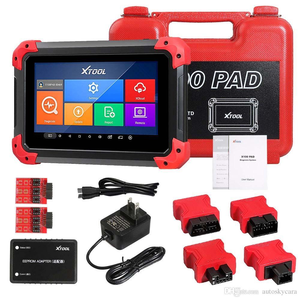 XTOOL X100 PAD X-100 Auto Key Programmer поддерживает сброс масла и коррекцию одометра с обновлением EEPORM Online