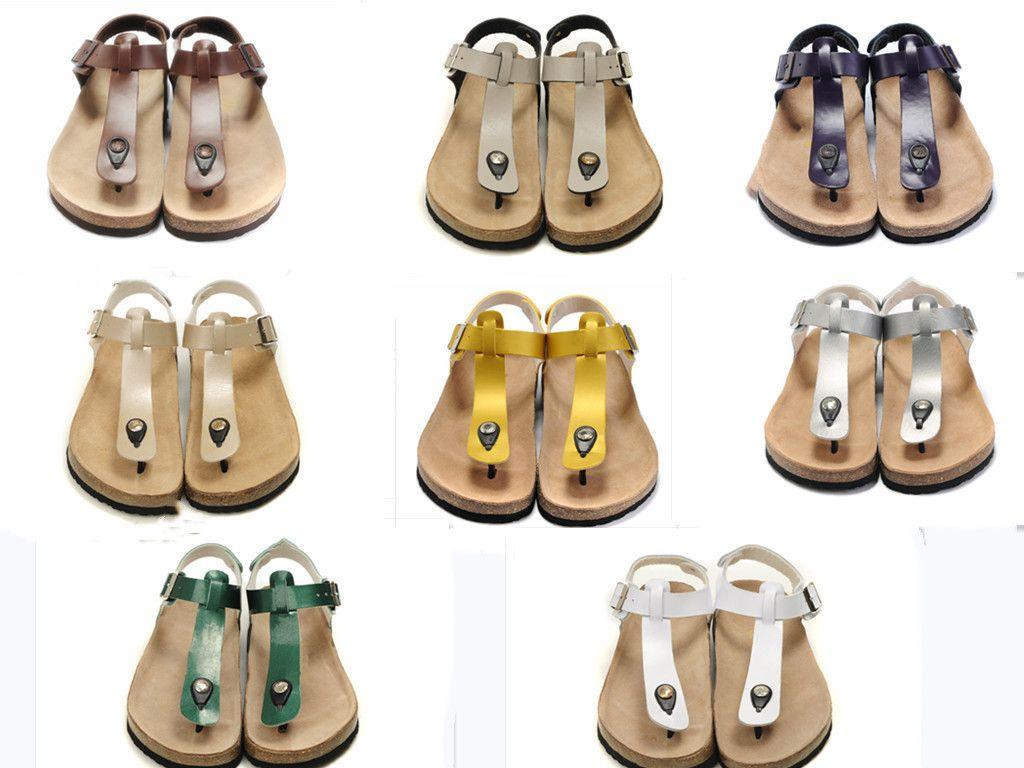 NUEVO diseñador zapatilla Gear partes inferiores del hombre sandalias de rayas causal antideslizante huaraches de verano zapatillas chanclas zapatilla MEJOR CALIDAD euros; 35-44