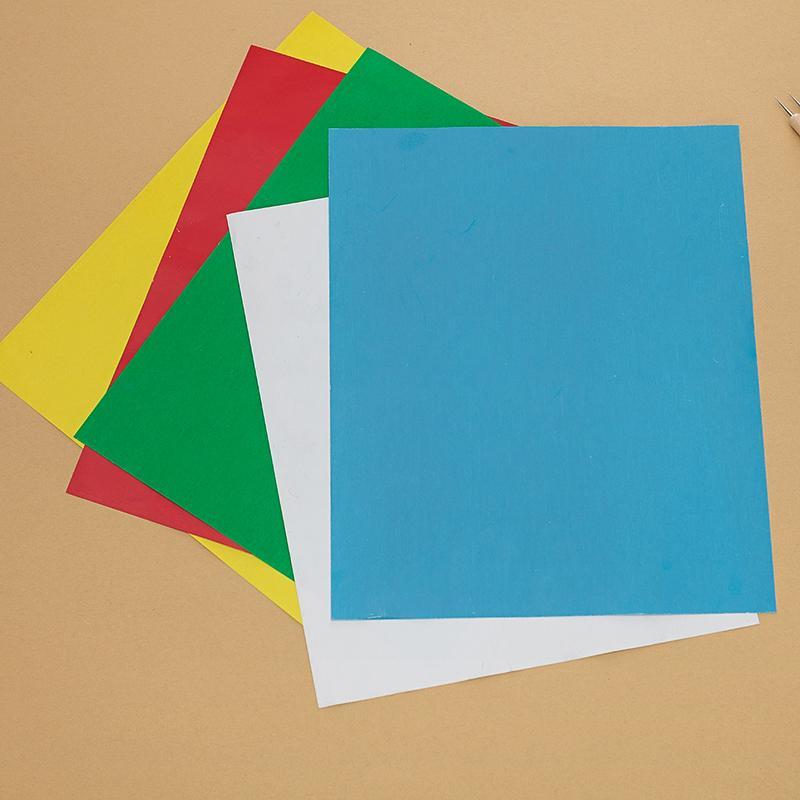 5 pcs multicolore Tissu en utilisant du papier de carbone broderie Fournitures Soluble dans l'eau Tissu Avec Du Papier De Carbone manuel BRICOLAGE À Coudre Accessoires