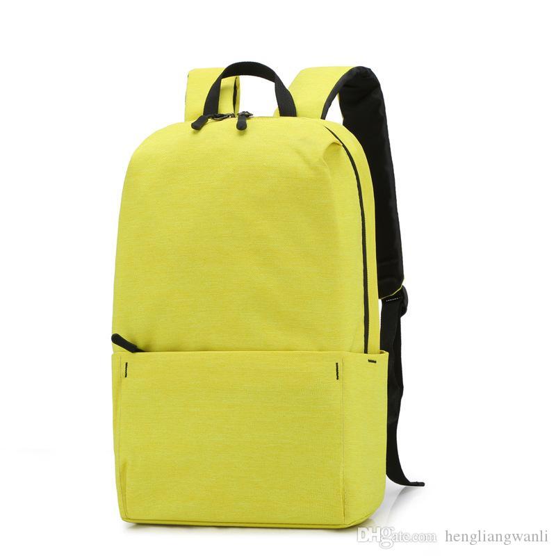 De haute qualité nouvelle des hommes sac à dos petit sac à dos colorés de la mode et les femmes sac étudiant léger sac à dos équitation d'extérieur