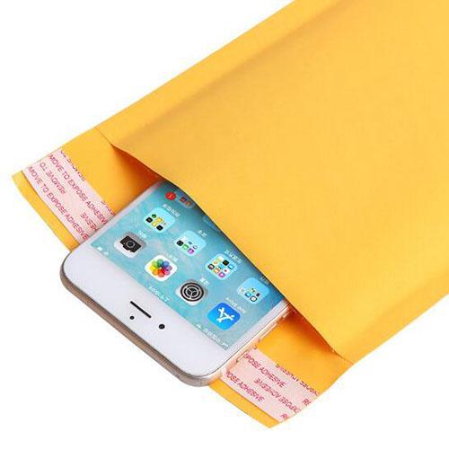 110 * 150mm Kraft Kağıt Kabarcık Zarflar Çanta Postaları Yastıklı Kabarcık Posta Çantası Ile Malzemeleri Ücretsiz Nakliye Zarf