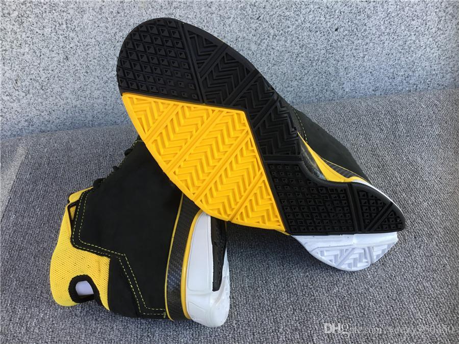 2020 nuevo diseñador zoom Protro ZK1 zapatos de baloncesto se divierte para hombre zapatillas de deporte de los zapatos causales de alta calidad Negro púrpura size40-45 amarillo negro