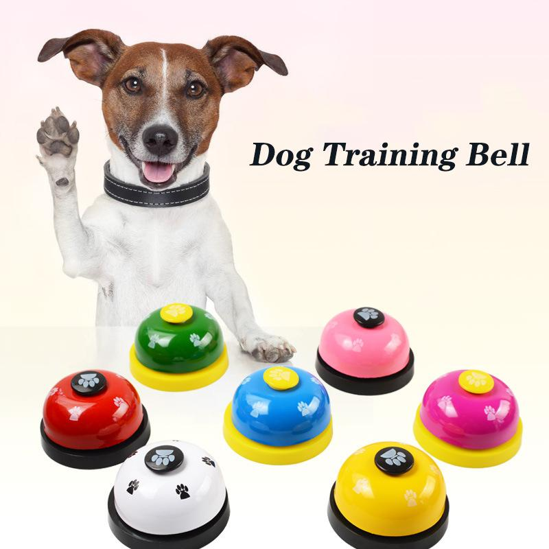 Dog Training Bell Potty Training Bell for Dogs Puppy Doorbells Dog Training Equipment Funny Called Pet Call Bell Dinner