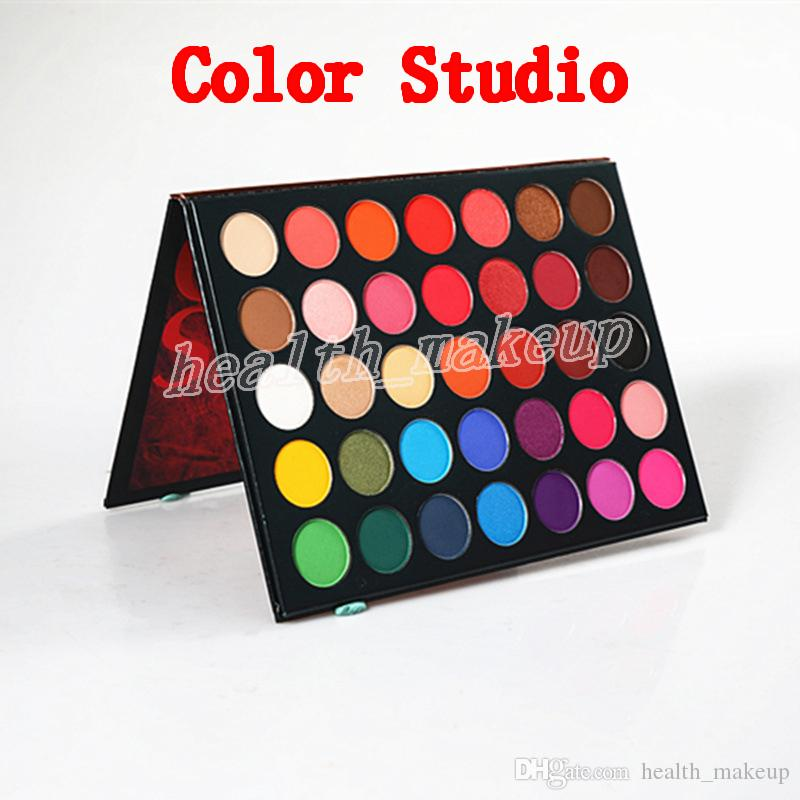 Palette di trucco Beauty Glazed Eye Shadow color studio 35 colori Eye Shadow e shimmer Eye Shadow Palette spedizione gratuita