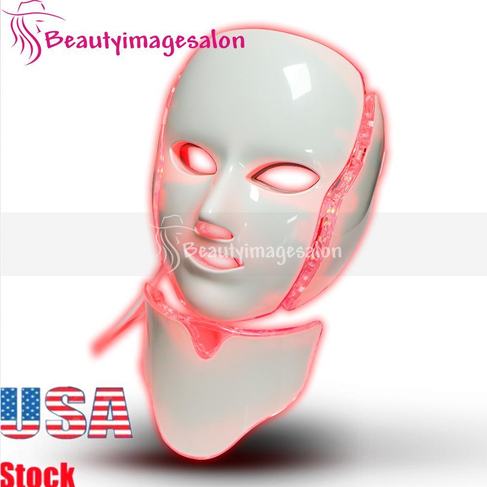 Prix moins cher la peau Soins du visage Masque Lifting du visage LED PDT microcourants Rajeunissement de la peau rides Removal Machine