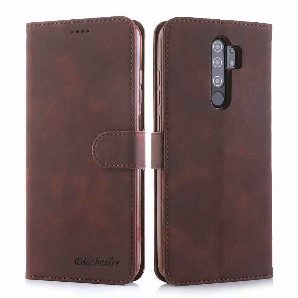 Housse en cuir d'affaires de luxe Xiaomi redmi Note 8 Pro flip Wallet Cover Pour redmi Note 8 Note8 Phone Case Bag Shell