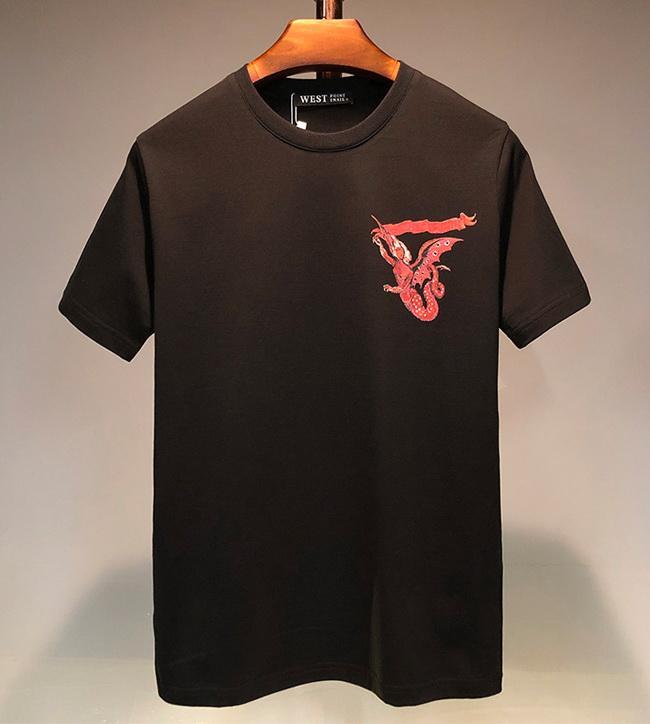 2020 Luxe Hommes Designer Impression 3D T-shirt New Summer Hommes Femmes manches courtes T-shirt Hip Hop col rond sport shirt des creux de la vague