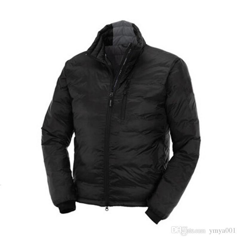 프랑스 남성 다운 자켓 MAYA 거위 털 코트 반짝 광택이 남성 야외 후드 칼라 따뜻한 깃털 Doudoune 겨울 코트 착실히 보내다 재킷 파카