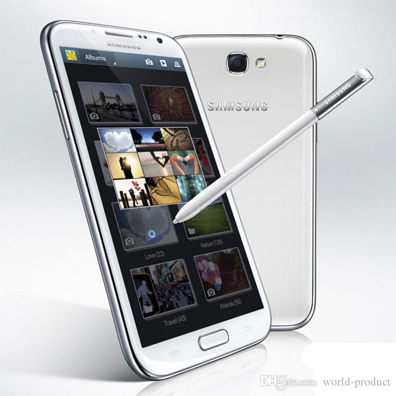 Originale Samsung Galaxy Note II N7105 5.5 pollici Quad-Core Android 4.1 2 GB di RAM 16G ROM GSM 3G singal sim Telefono rinnovato