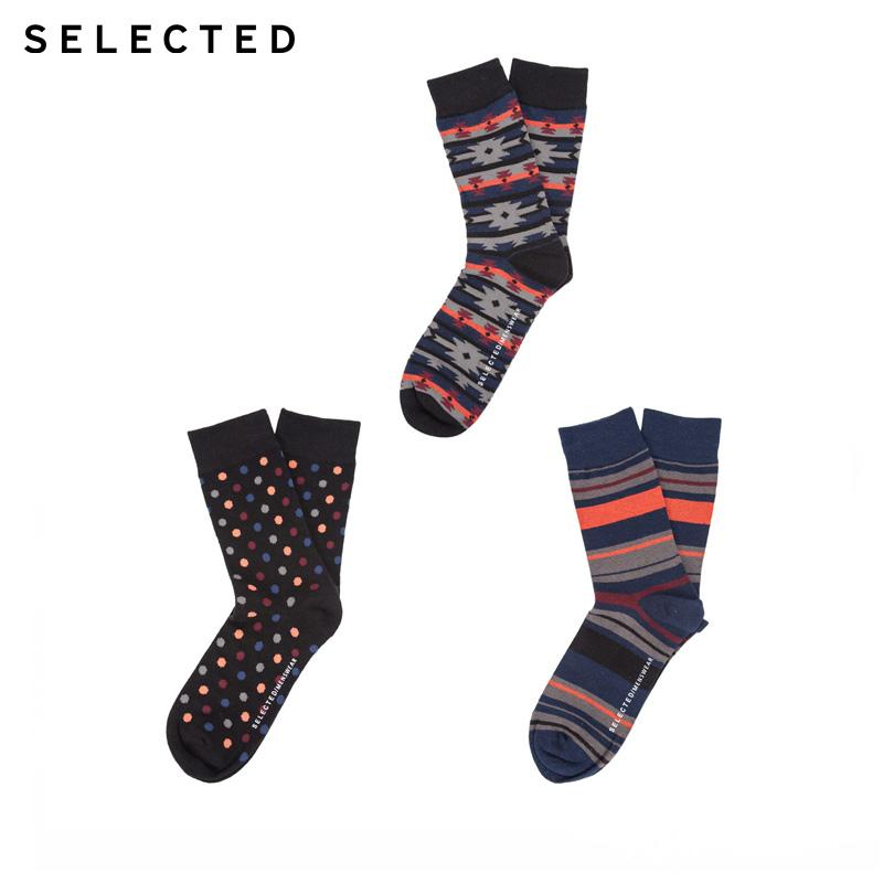 toptan Marka Yeni retro rahat elastik pamuk karışımlı kumaş çorap erkekler   41631Q502