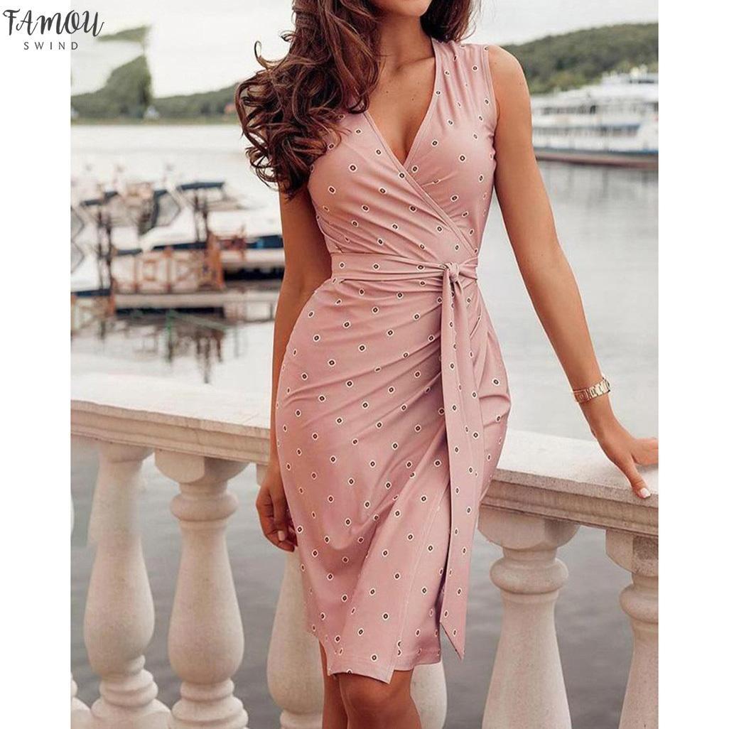 БИНТОВ Женское платье без рукавов Повседневный Фантастическая женские платья для девочек Мода набойки Свадьба Гость Vestidos