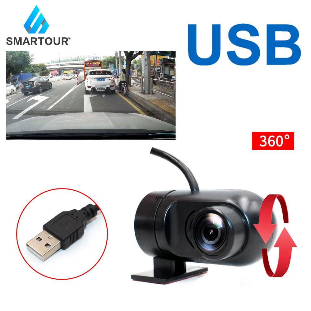 Smartour USB car DVR camera night vision front camera fordroid car Dvd Monitor record 1280 * 720 recorde