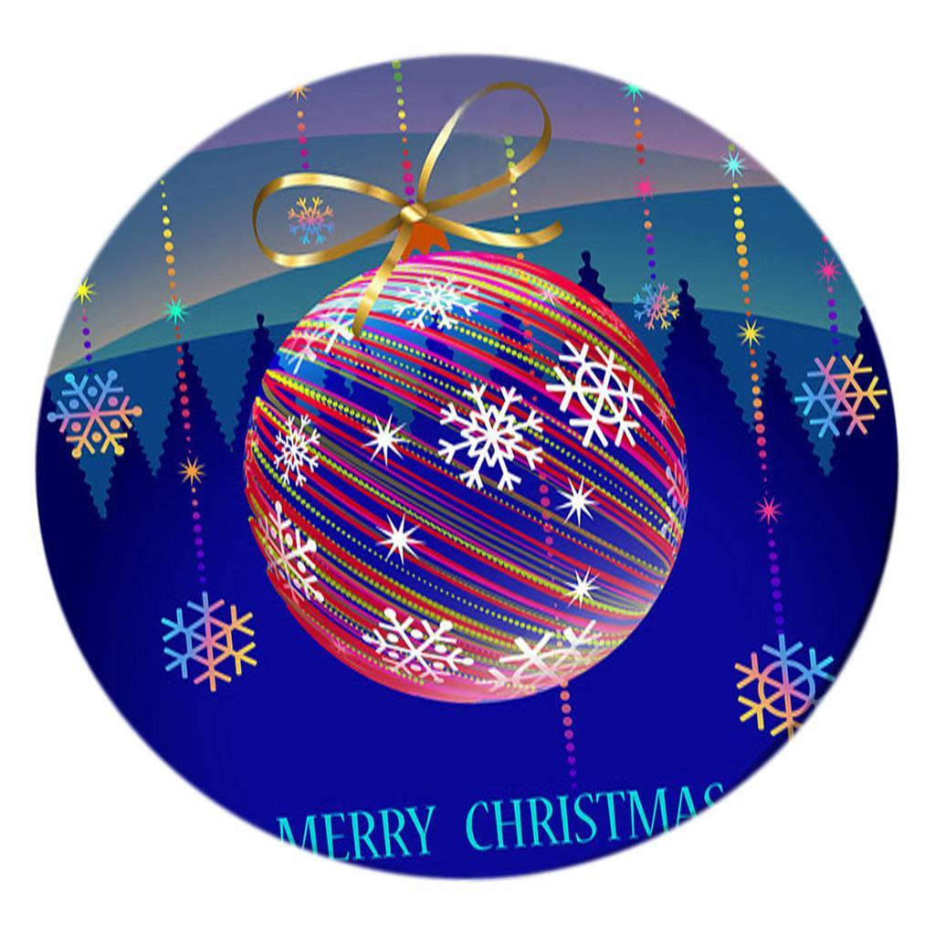 Tabla Impreso Digital cubierta de tela Mantel Navidad Con elástico Edge