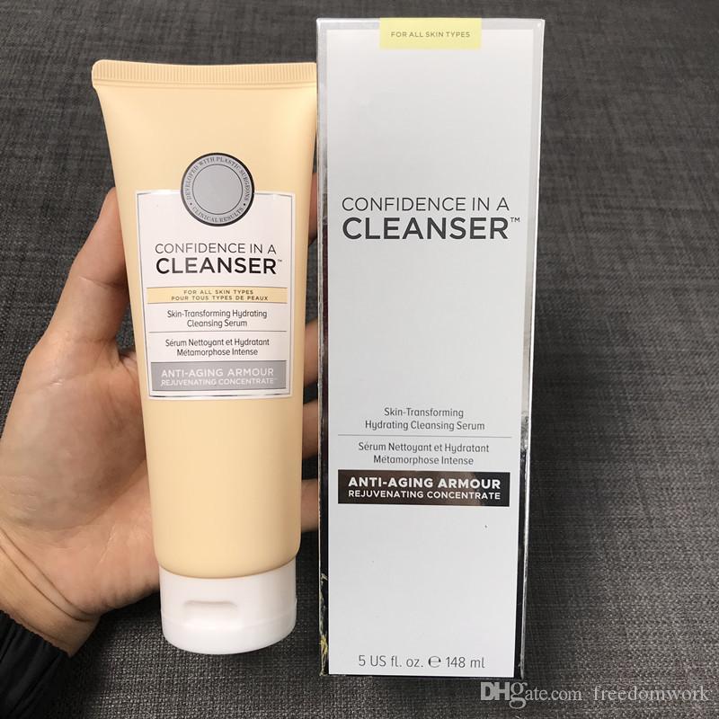 Cosméticos Confiança em um produto de limpeza 148ml Soro de Limpeza Hidratante para Transformação da Pele ótima pele começa com confiança Dhl livra