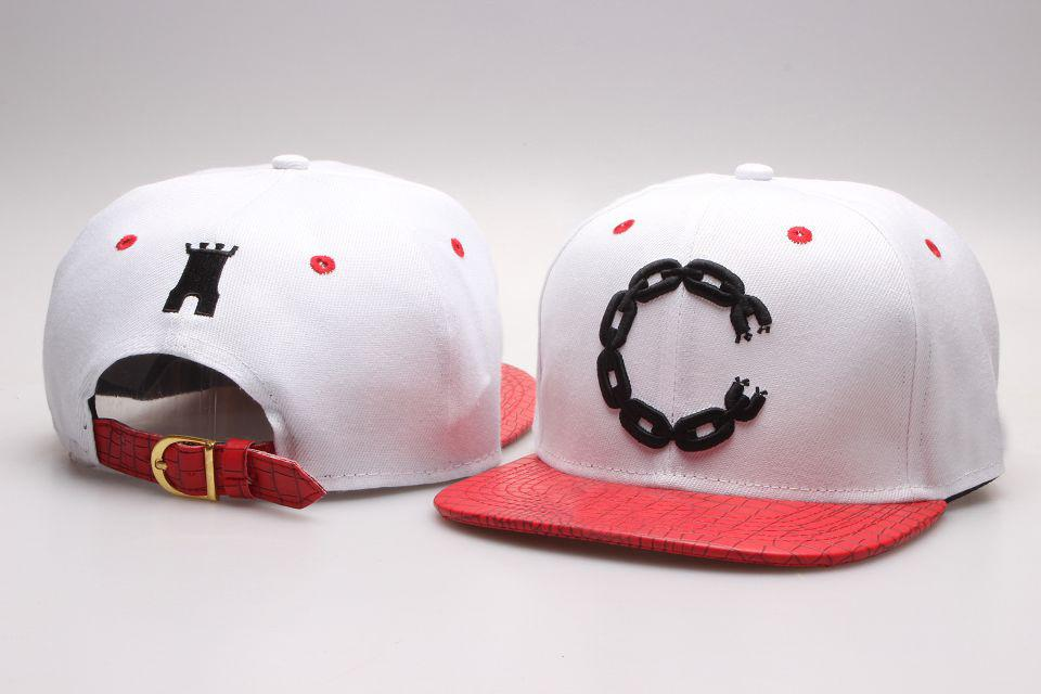 Crooks Castle Men And Women Baseball Leather After Buckle Quality Skateboard Hat