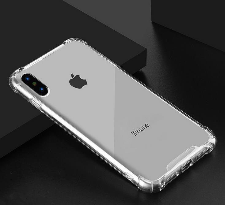 Мягкий ТПУ прозрачный чехол для iPhone 11 PRO MAX XS XR 8 7 6 Прозрачный Shell Назад