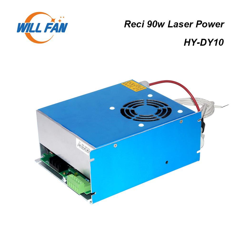 Alimentation du laser CO2 de CO2 de CO2 80W pour la machine de gravure laser. Boîte électrique 80W pour tube laser RECI W2 S2