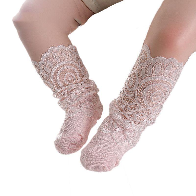 NewBorn Baby Girl Calcetines Tiny Cotton Infant Lace Calcetines para Niñas Verano Cosas Baratas Calcetín Bebé Accesorios