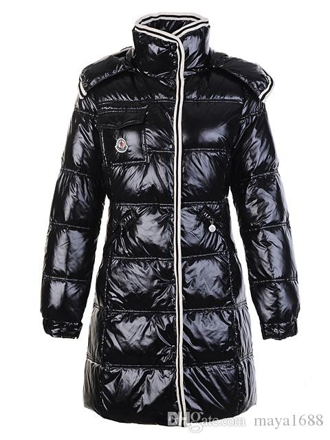 French fashion clothing Women Long Winter Down Jacket Womens Slim Female Coats Thicken Parka Down Coat Hooded Parkas
