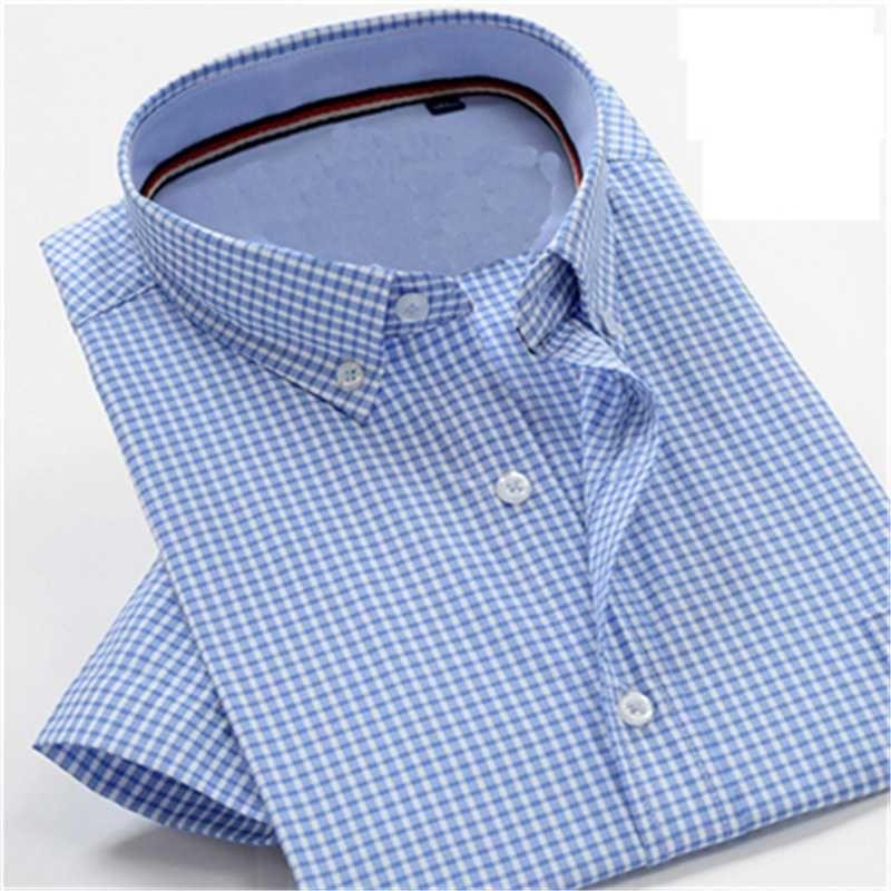 hihg Qualität und weise Kurzhülse Jacquard-Gewebe Neukombination Preis männlichen Sommer-Super-Groß Shirt plus Größe M-9XL10XL 77087