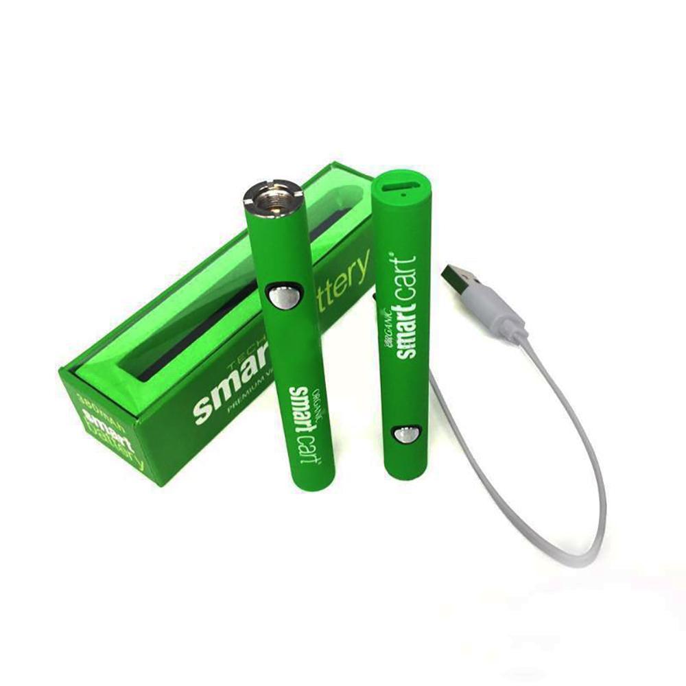 380mAh Smart-vorheizen Batterie Variable Voltage Bottom-Ladegerät mit USB 510 Vape Pen Akku M6T TH2 Amigo Freiheit Vape Cartridges