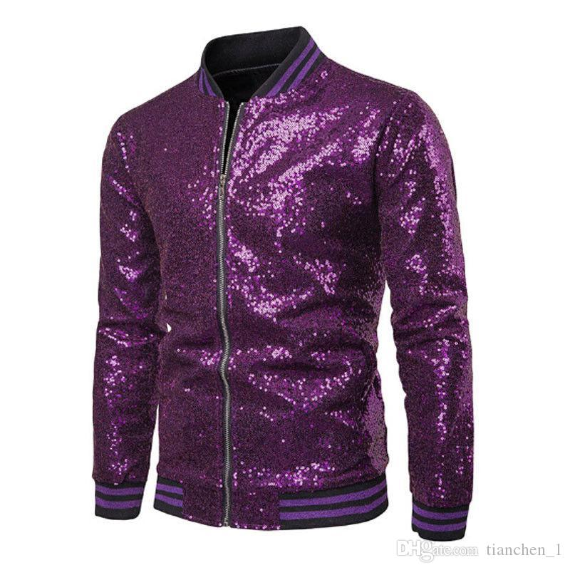 Men Coats Fashion Sequins Shiny Jackets New Man Party Bar Garment Dance Coat Sequin Outfits Jacket Outwear jackets Male