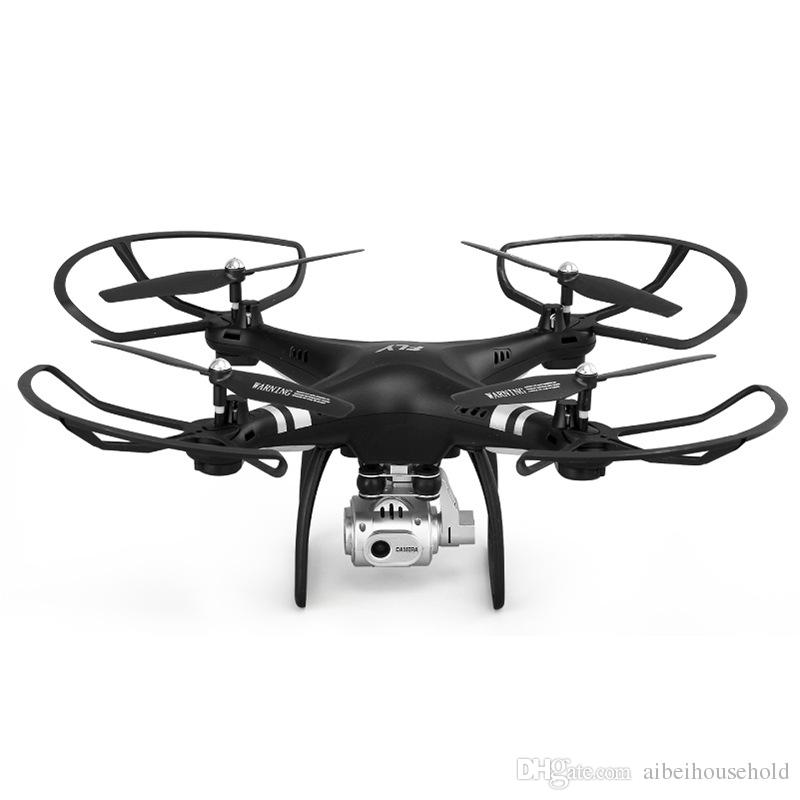 2.4G HZ RC Quadcopter Drones 4CH 4 Axis 2 GPS RTF Helicopter GYRO Toys Remote Contro Aircraft With 720p Camera , One-button Return