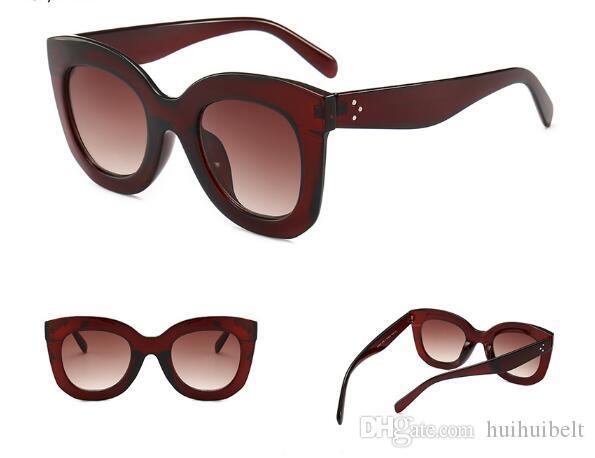 Europa ed il grande gatto occhiali da sole metro occhio sguardo stare Stati Uniti signore high-end occhiali da sole classici occhiali da sole di tendenza retrò selvatici
