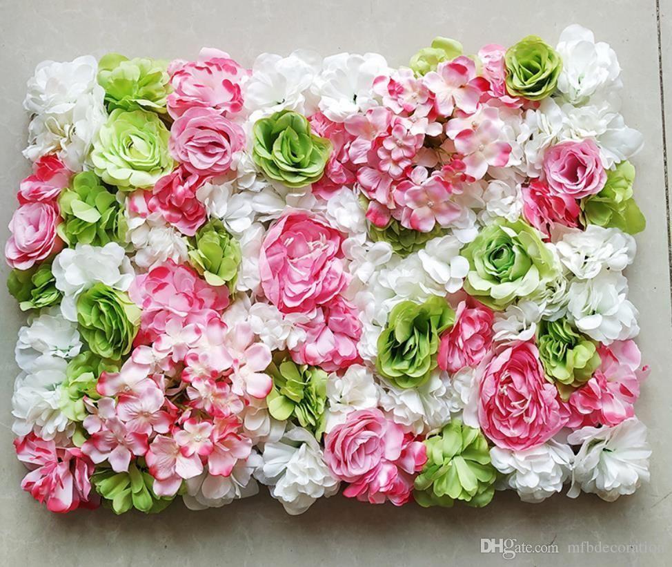 Flower wall simulation background wedding party decoration flower arch cloth flower photography props European www xxx com