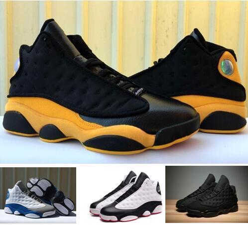 Melo Classe del 2003 13S Back to School He got game 13s scarpe da basket single cinesi Giorno 3M Bred 13 Blue Pure soldi con Box