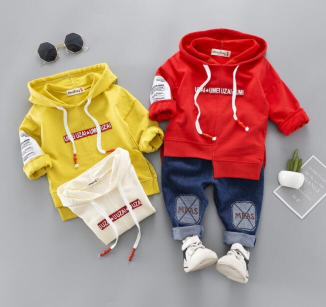 2019 New Best-selling Spring and Autumn New Brand Children's Cartoon Grinding Hat Children's Sanitary Suit Factory Direct Sales