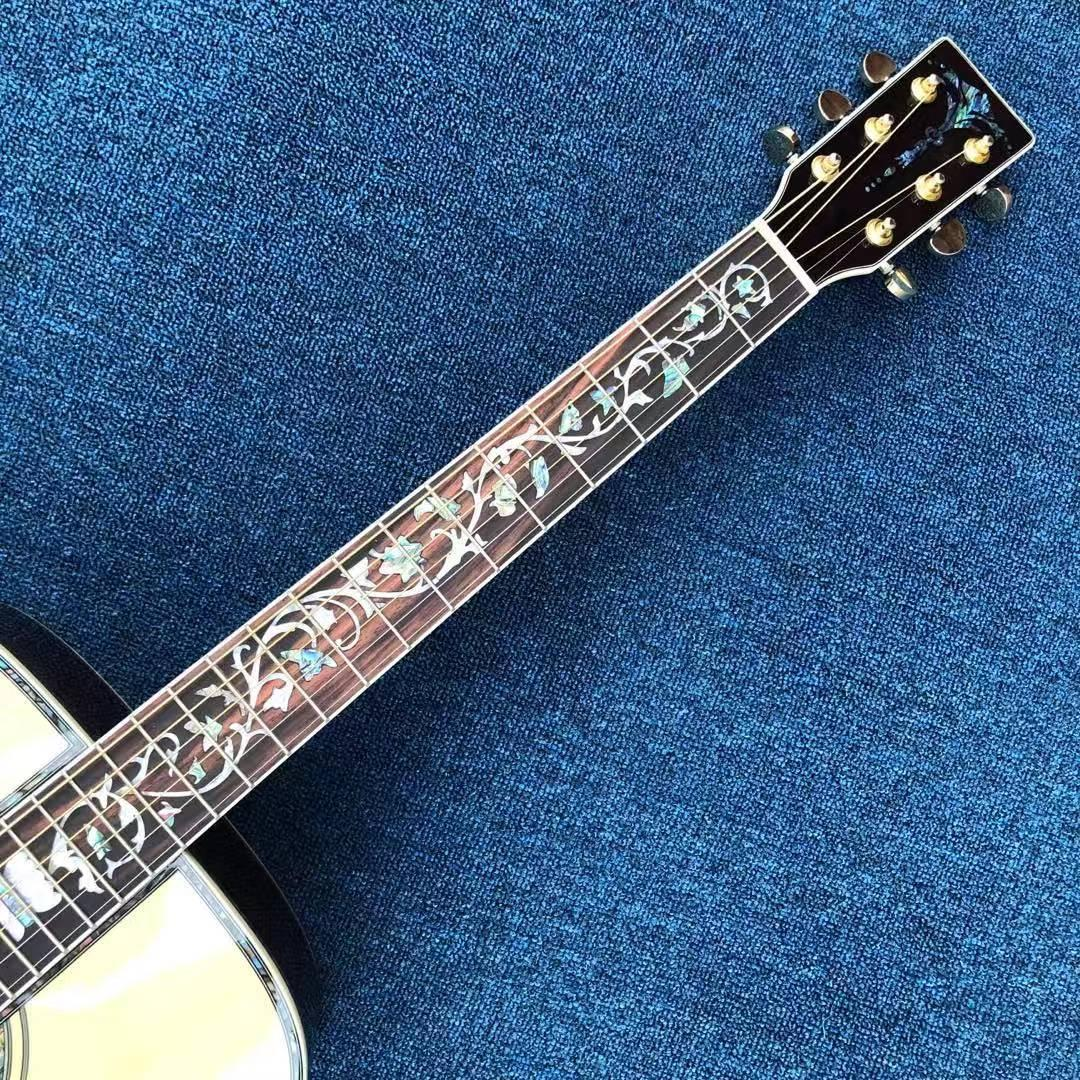 2020 new acoustic guitar, spruce noodle. Rosewood Side Rear Free of Freight