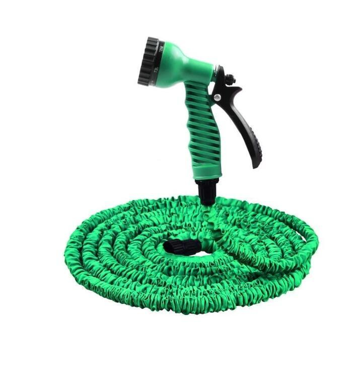 3 Times Expanded 25FT-100FT Garden Hose Expandable Magic Flexible Water Plastic Hoses Pipe With Spray Gun