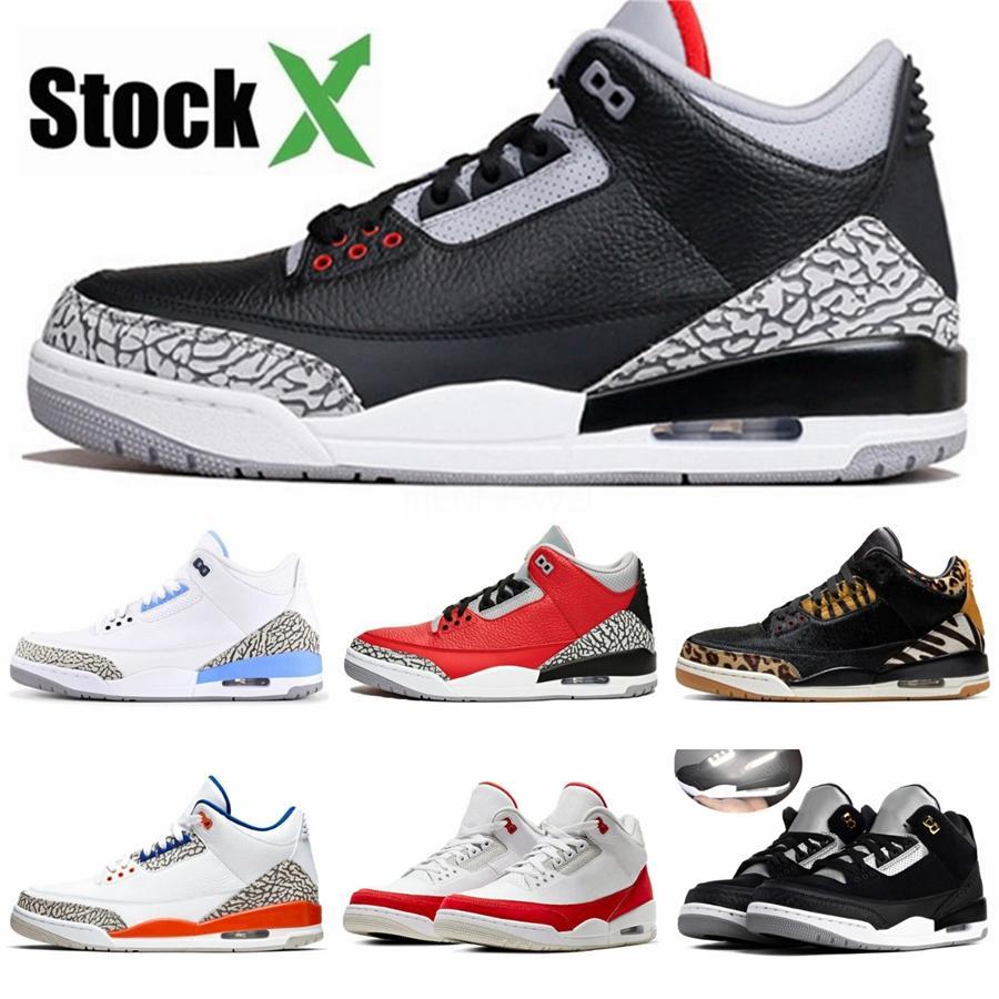 Tattoo 3 pattini di pallacanestro di sport Bred Designer Shoes palestra Red Chicago Boy 3S Raptors Athletic Sneakers Eur 28-35 # 997